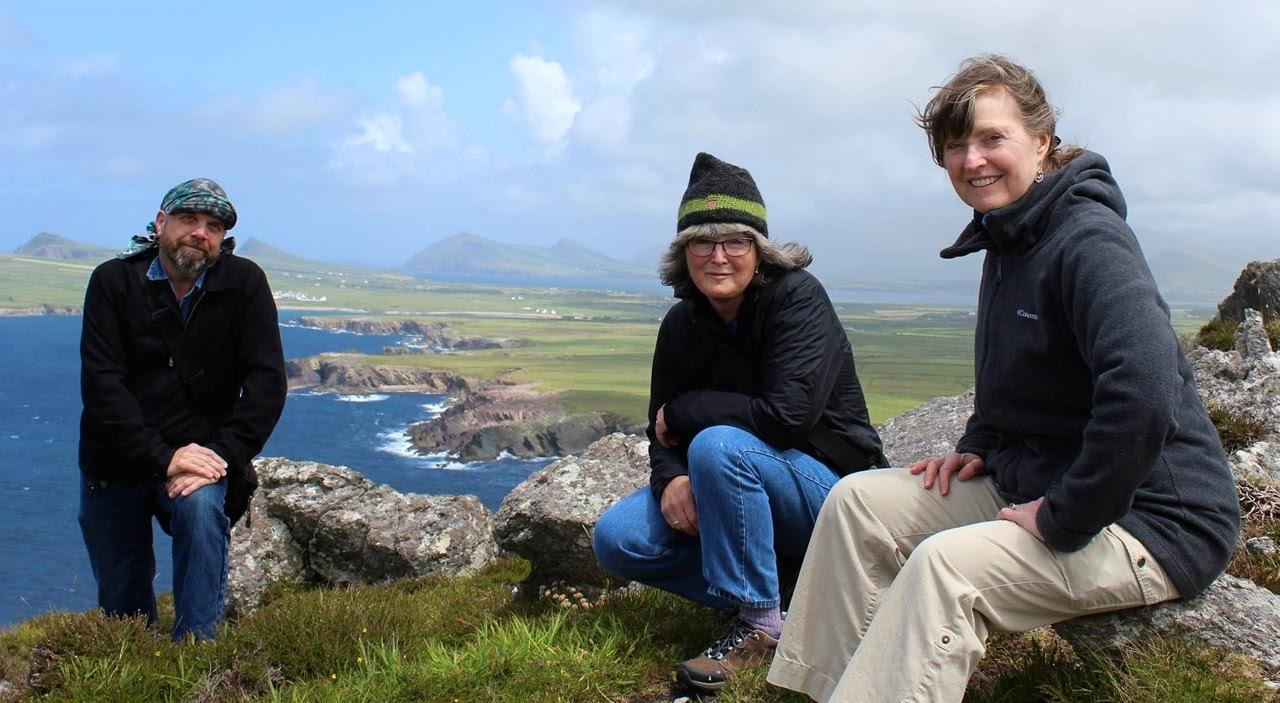 Curlew's Call members in Ireland!